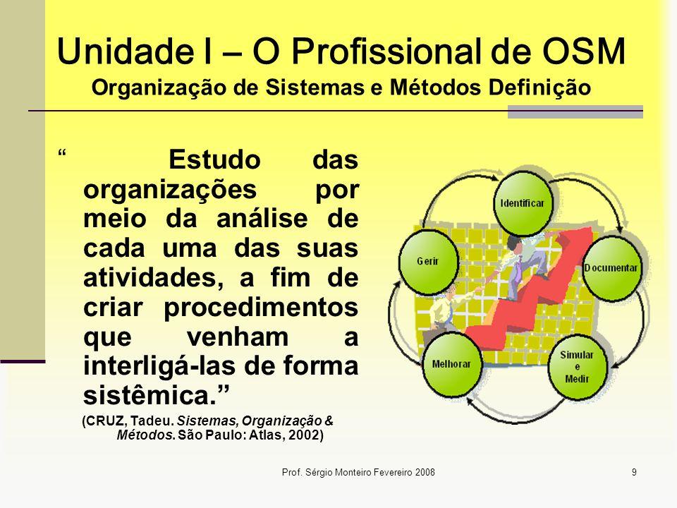 (CRUZ, Tadeu. Sistemas, Organização & Métodos. São Paulo: Atlas, 2002)