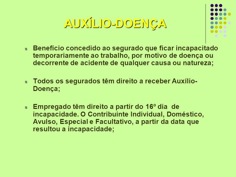 AUXÍLIO-DOENÇA