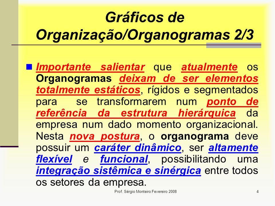 Gráficos de Organização/Organogramas 2/3
