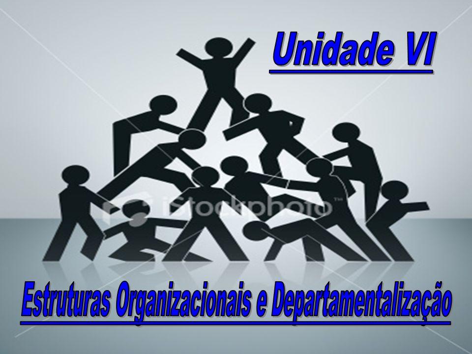 Estruturas Organizacionais e Departamentalização