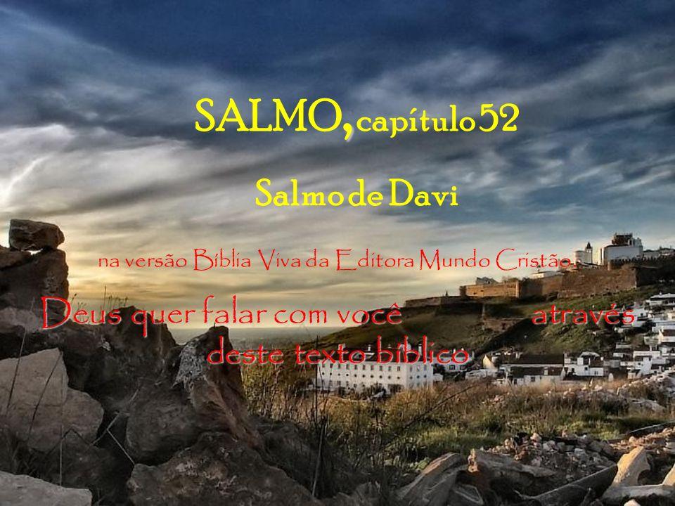 SALMO, capítulo 52 Salmo de Davi