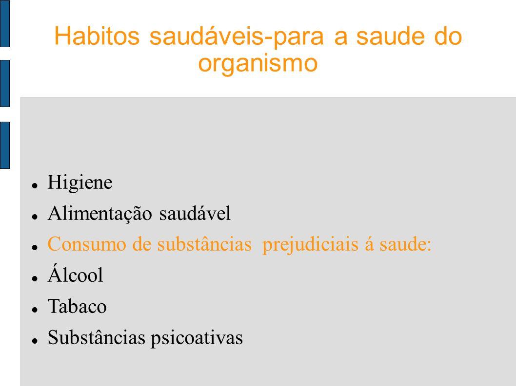Habitos saudáveis-para a saude do organismo
