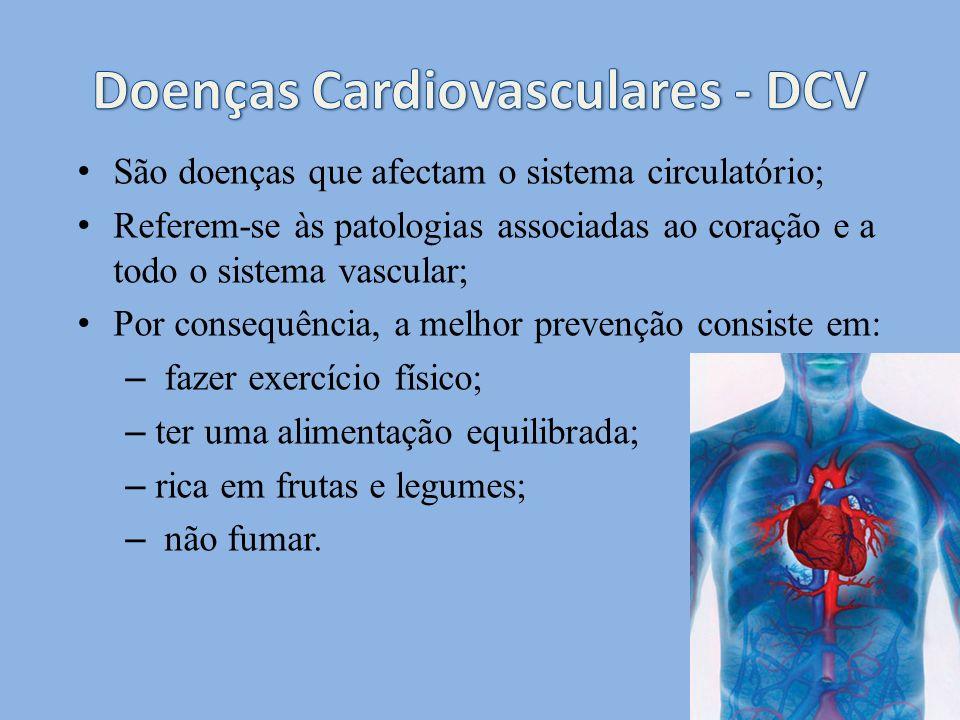 Doenças Cardiovasculares - DCV