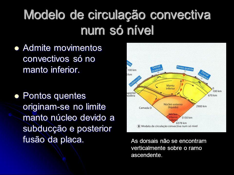 Modelo de circulação convectiva num só nível