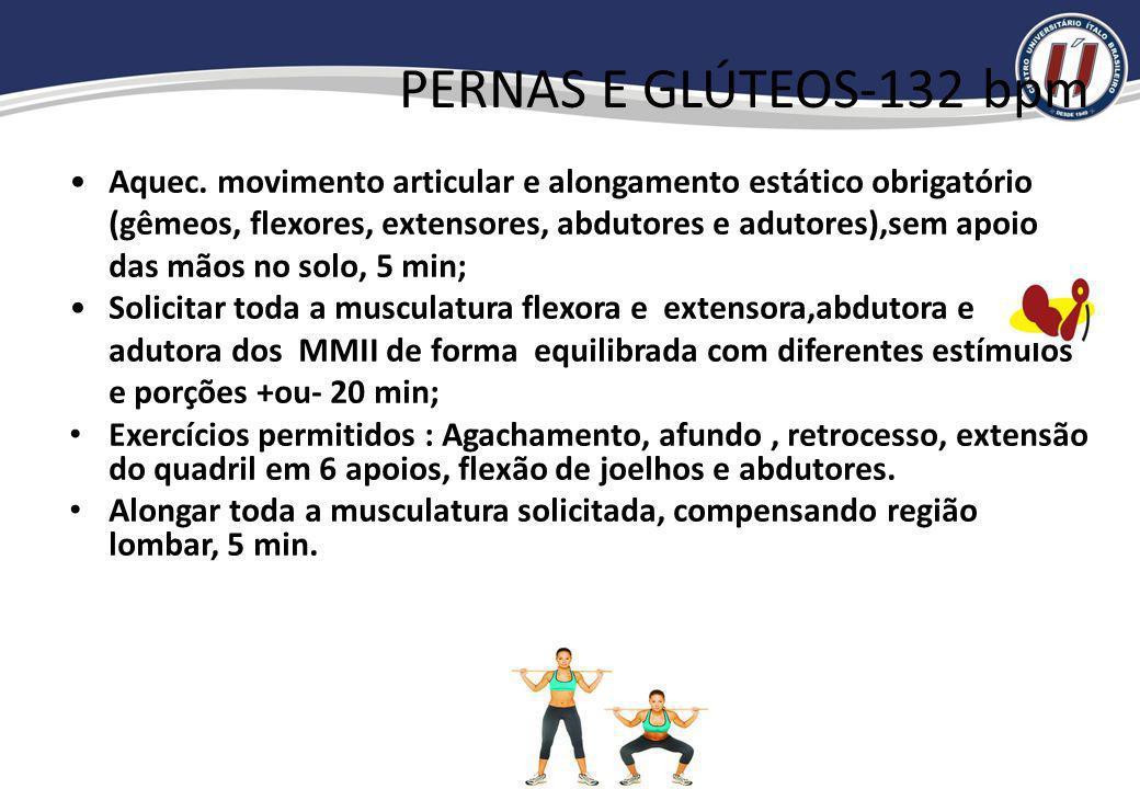 PERNAS E GLÚTEOS-132 bpm