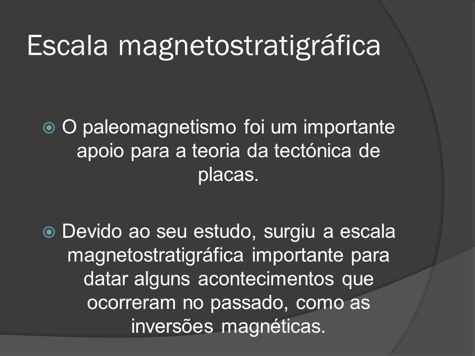 Escala magnetostratigráfica