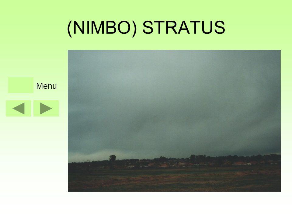(NIMBO) STRATUS Menu