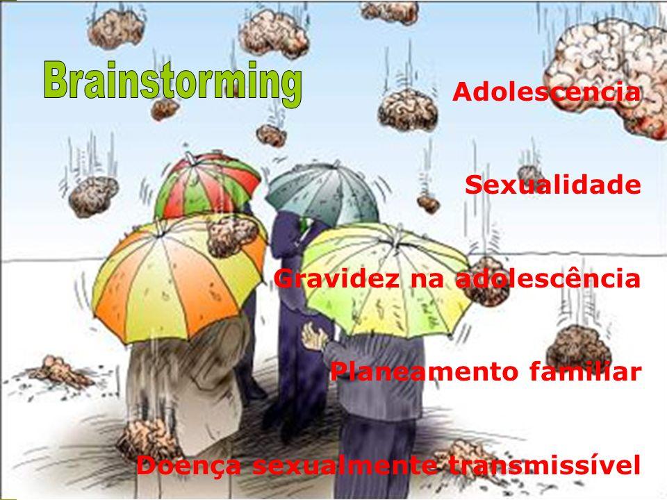 Brainstorming Adolescencia Sexualidade Gravidez na adolescência