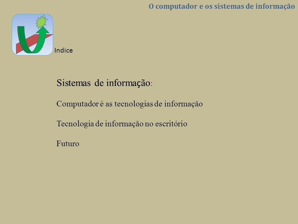 Sistemas de informação: