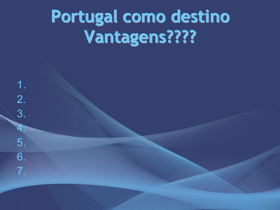 Portugal como destino Vantagens