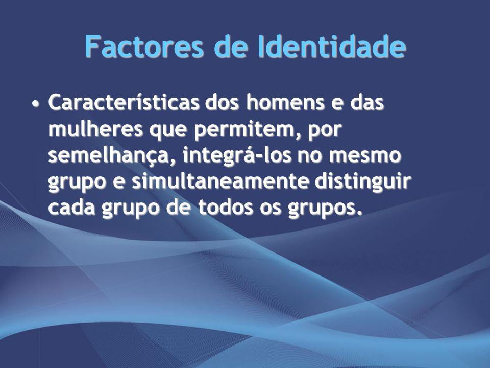 Factores de Identidade