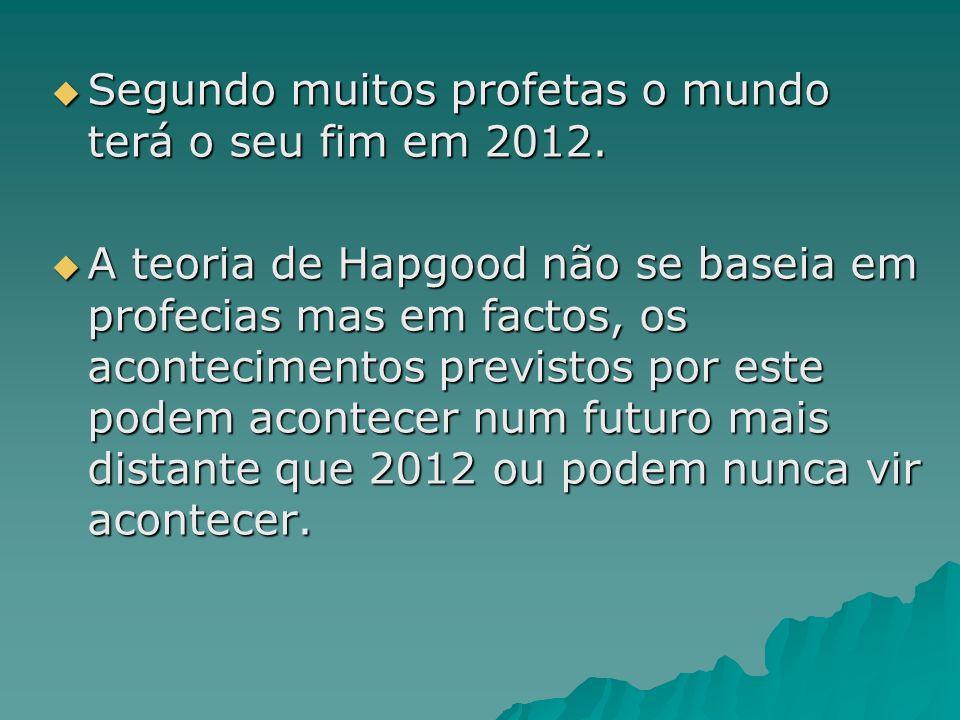 Segundo muitos profetas o mundo terá o seu fim em 2012.