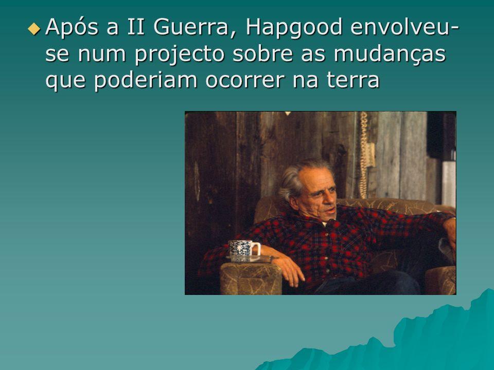 Após a II Guerra, Hapgood envolveu-se num projecto sobre as mudanças que poderiam ocorrer na terra