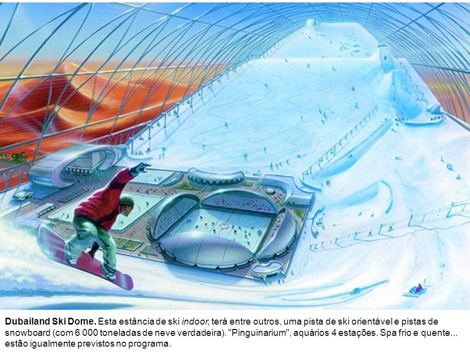 Dubailand Ski Dome.