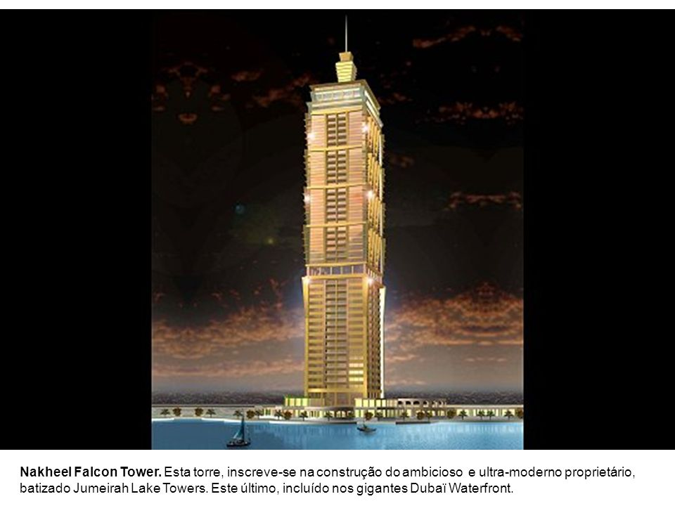 Nakheel Falcon Tower.