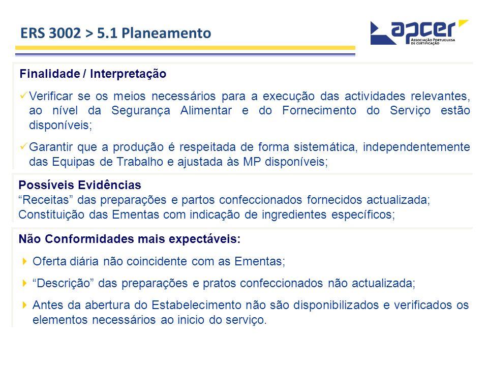 ERS 3002 > 5.1 Planeamento Finalidade / Interpretação