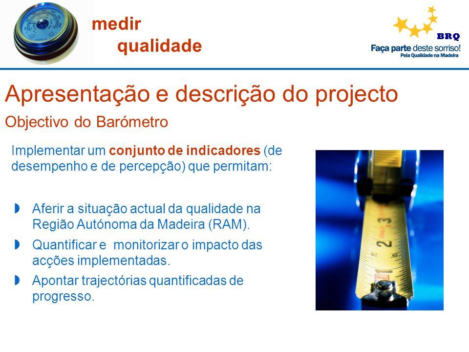 Apresentação e descrição do projecto