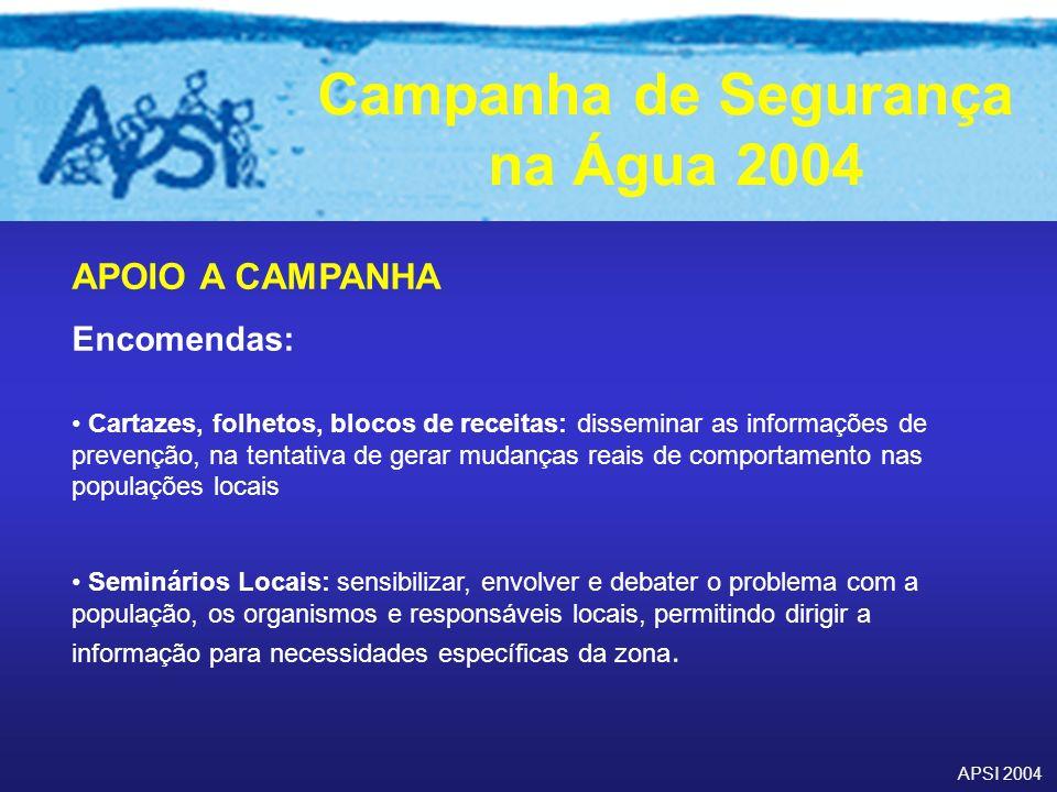 APOIO A CAMPANHA Encomendas: