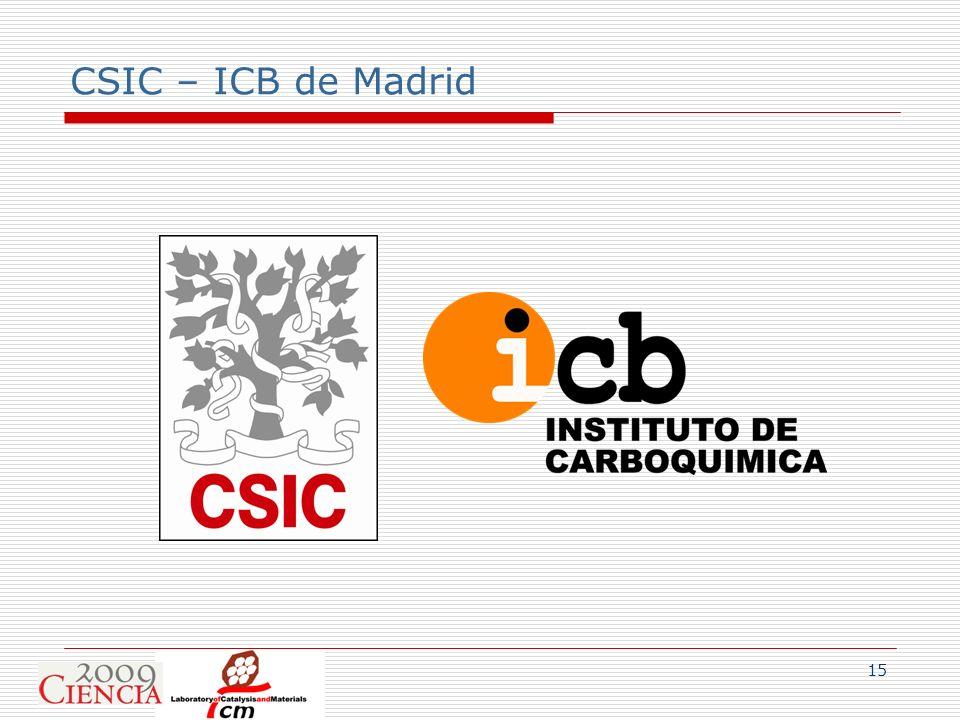 CSIC – ICB de Madrid