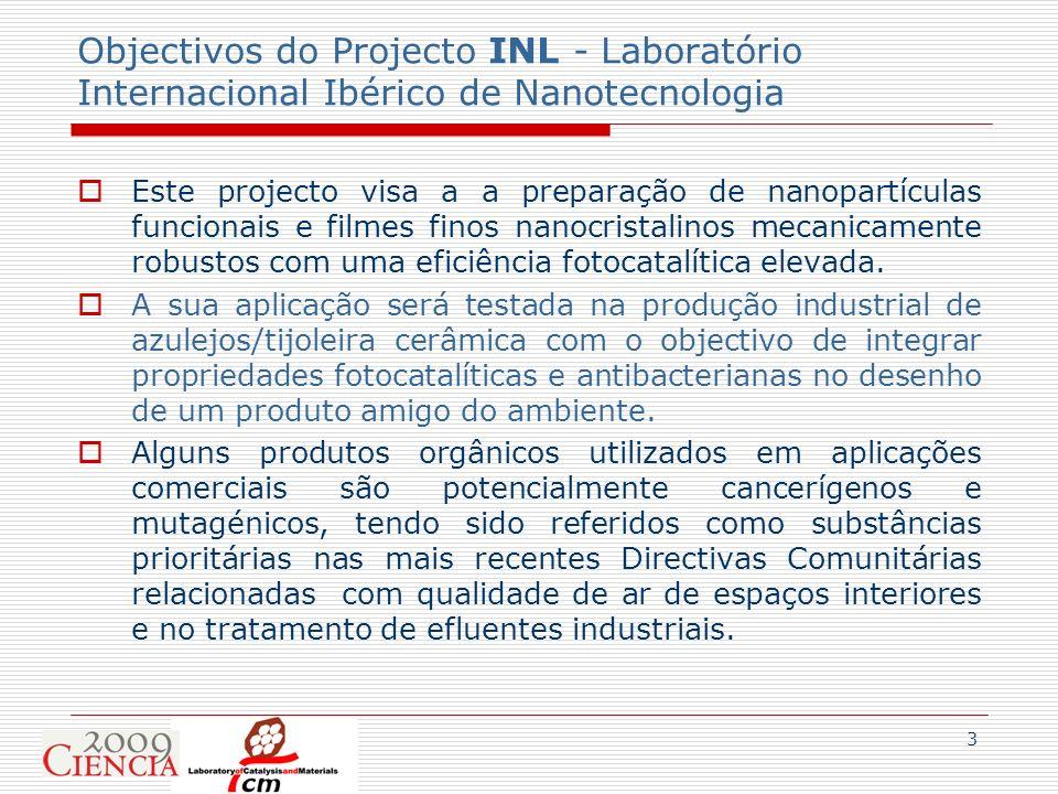 Objectivos do Projecto INL - Laboratório Internacional Ibérico de Nanotecnologia