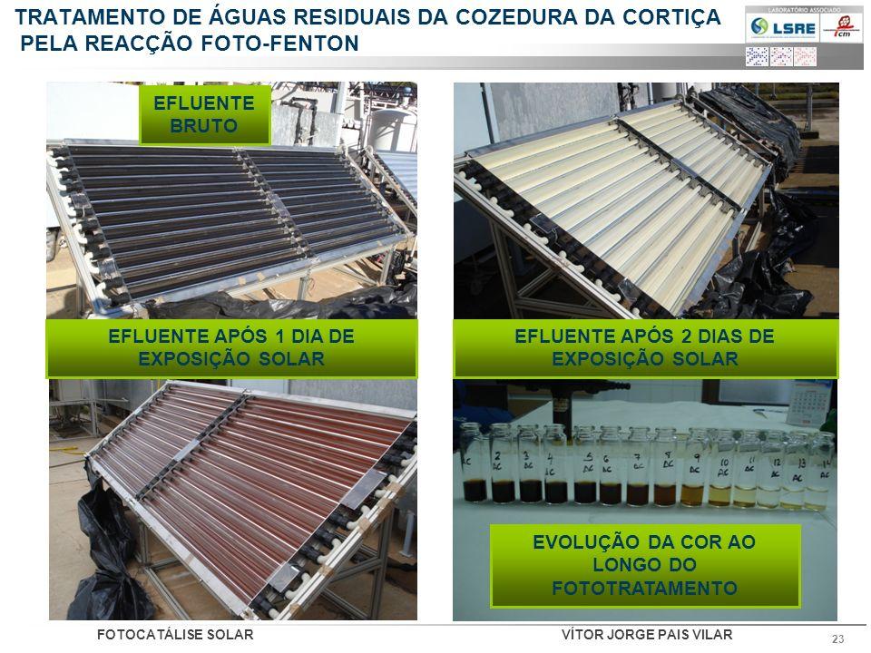TRATAMENTO DE ÁGUAS RESIDUAIS DA COZEDURA DA CORTIÇA PELA REACÇÃO FOTO-FENTON
