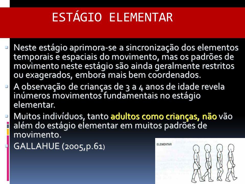ESTÁGIO ELEMENTAR