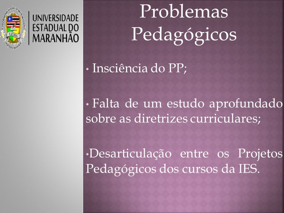 Problemas Pedagógicos