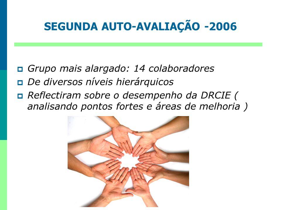 SEGUNDA AUTO-AVALIAÇÃO -2006