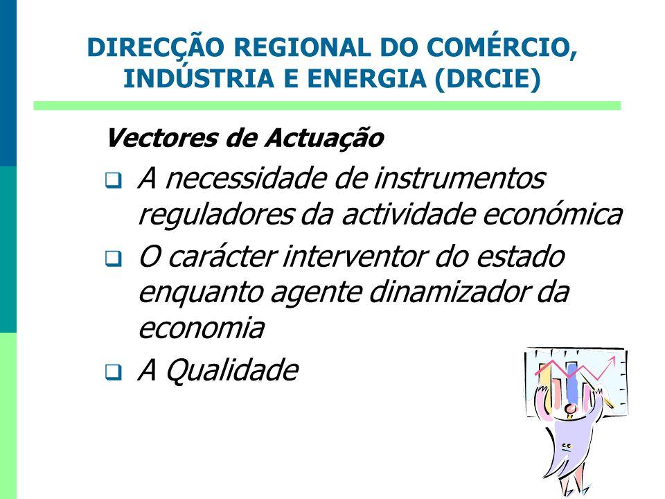 DIRECÇÃO REGIONAL DO COMÉRCIO, INDÚSTRIA E ENERGIA (DRCIE)