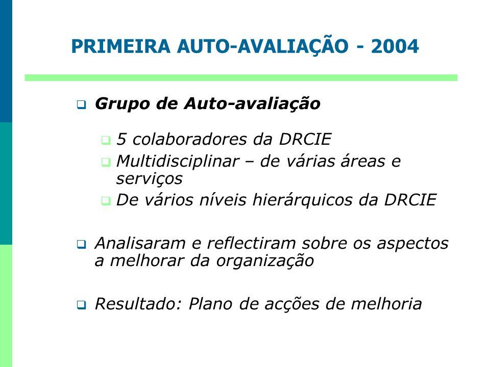 PRIMEIRA AUTO-AVALIAÇÃO - 2004