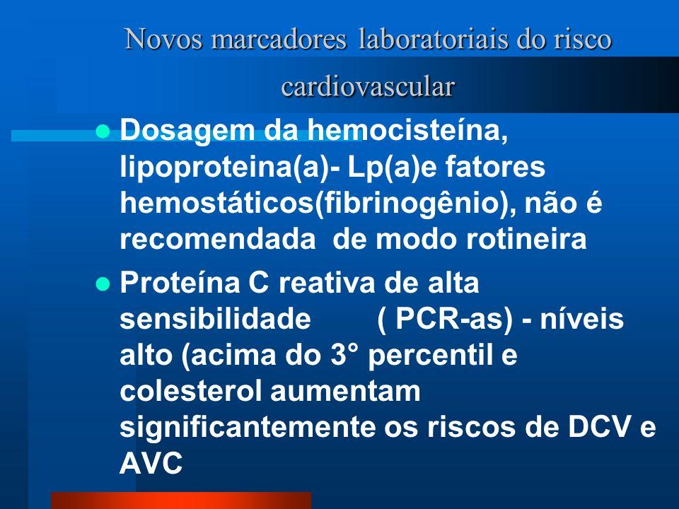 Novos marcadores laboratoriais do risco cardiovascular