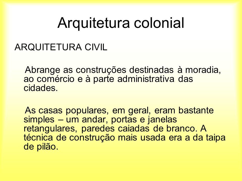 Fabuloso Arte no Brasil Colonial Arquitetura e urbanismo - ppt video online  HS85