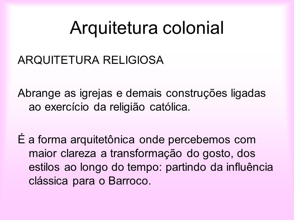 Excepcional Arte no Brasil Colonial Arquitetura e urbanismo - ppt video online  XD55