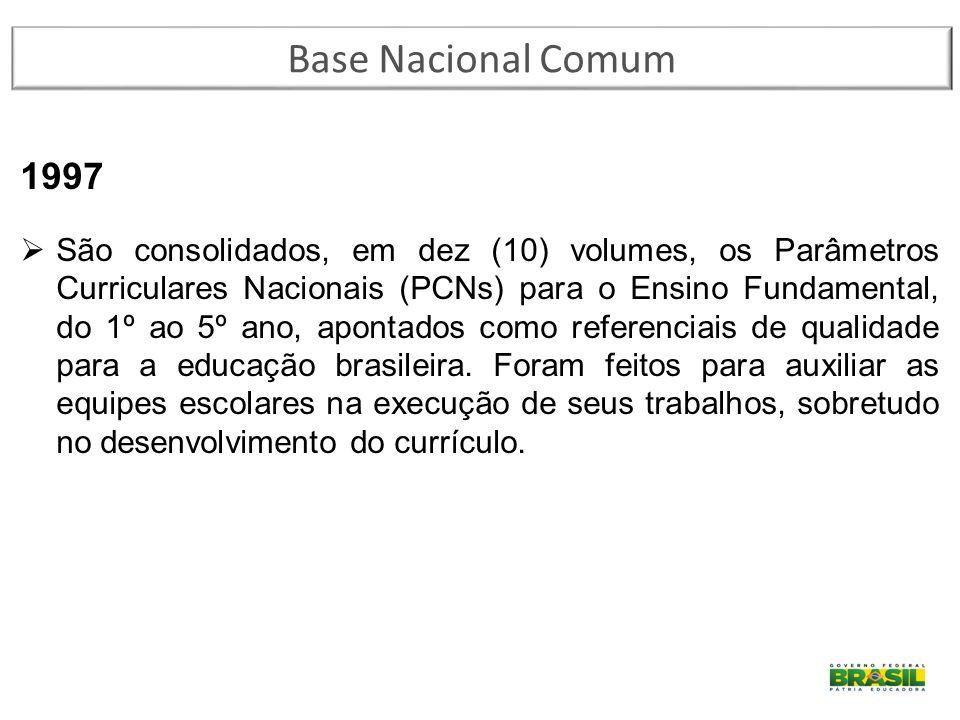 Base Nacional Comum 1997.