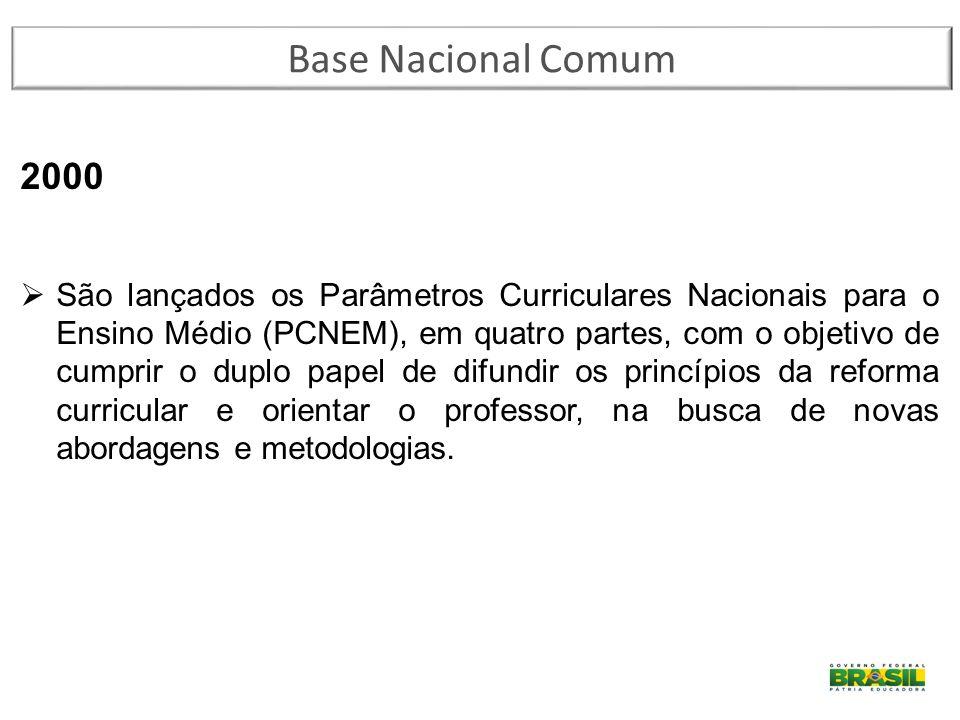 Base Nacional Comum 2000.