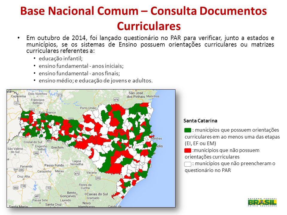 Base Nacional Comum – Consulta Documentos Curriculares