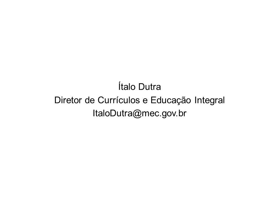 Diretor de Currículos e Educação Integral