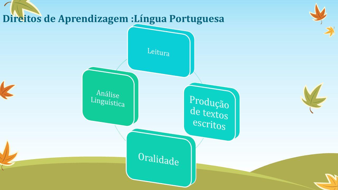 Direitos de Aprendizagem :Língua Portuguesa