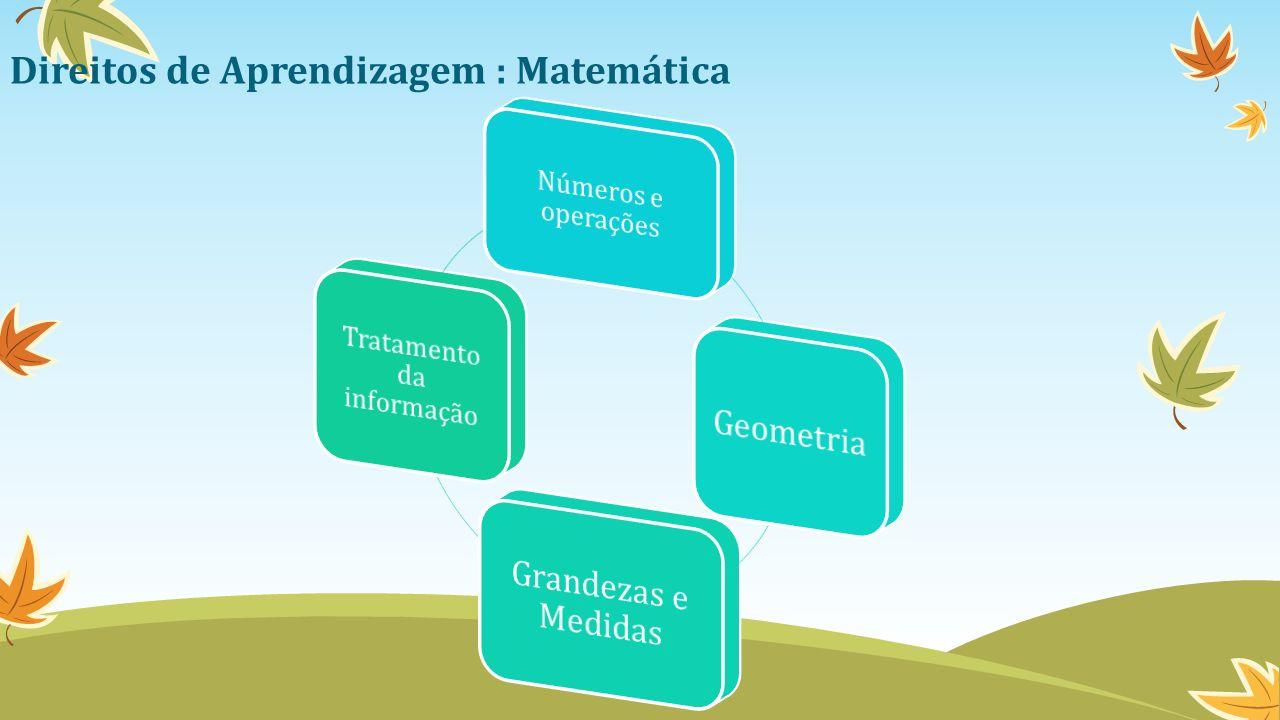 Direitos de Aprendizagem : Matemática