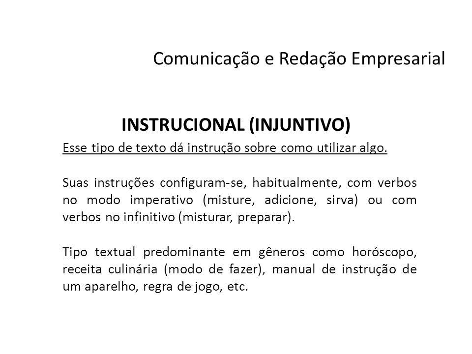 INSTRUCIONAL (INJUNTIVO)