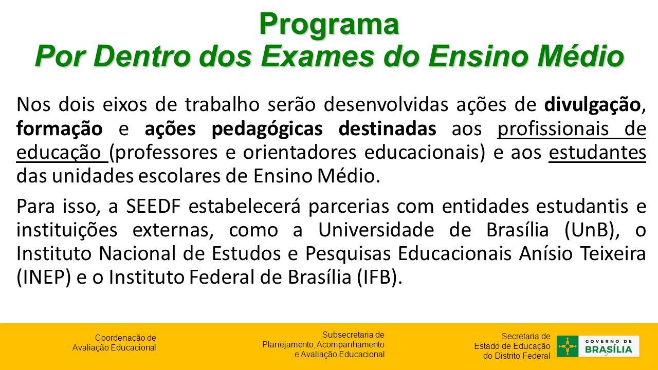 Programa Por Dentro dos Exames do Ensino Médio