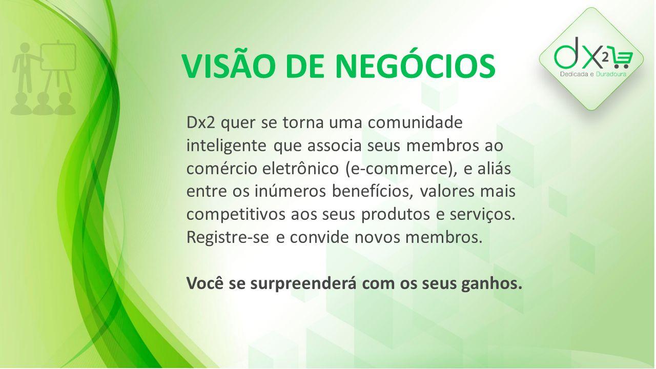 VISÃO DE NEGÓCIOS