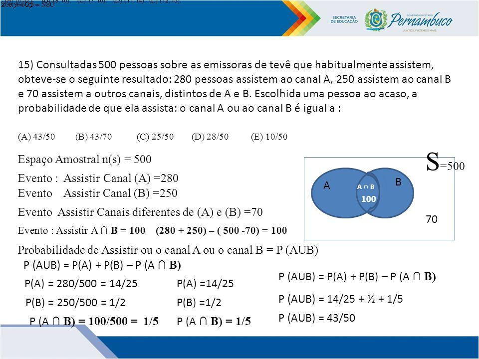 (A) (8,17). (B) (9,16). (C) (7,18). (D) (11,14). (E) (12,13).