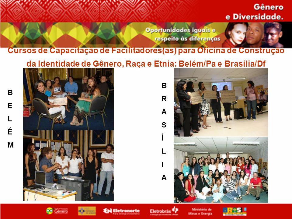 Cursos de Capacitação de Facilitadores(as) para Oficina de Construção da Identidade de Gênero, Raça e Etnia: Belém/Pa e Brasília/Df