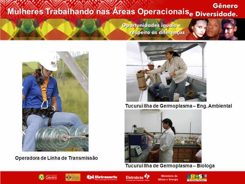 Mulheres Trabalhando nas Áreas Operacionais