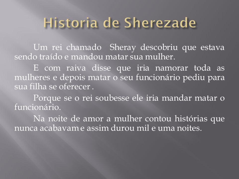 Historia de Sherezade