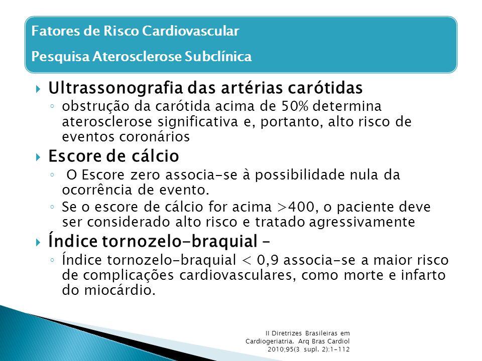 Ultrassonografia das artérias carótidas