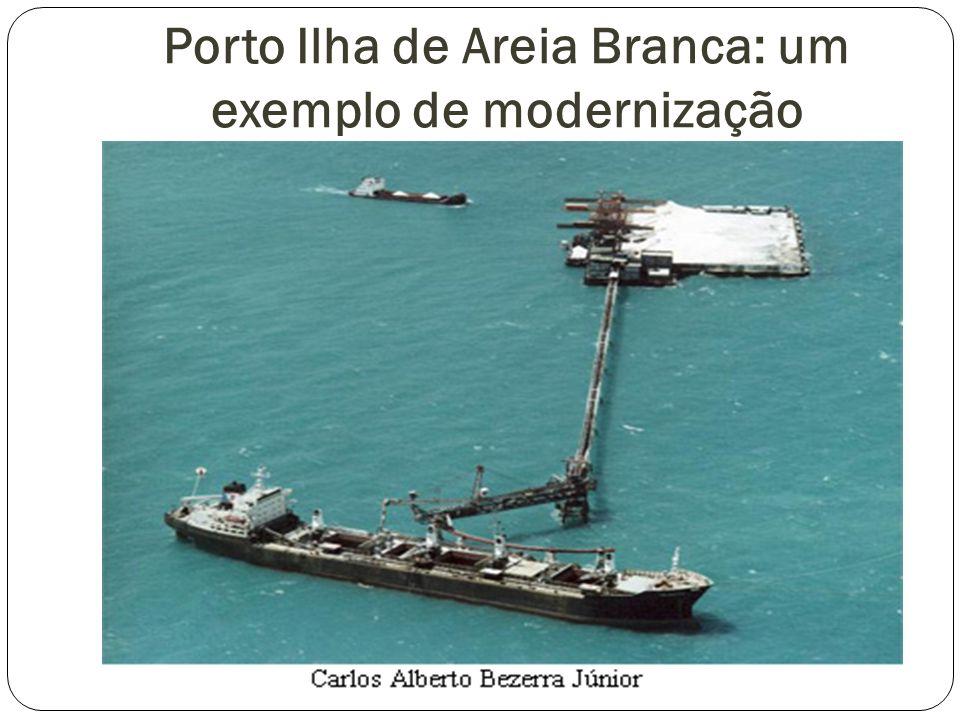 Porto Ilha de Areia Branca: um exemplo de modernização