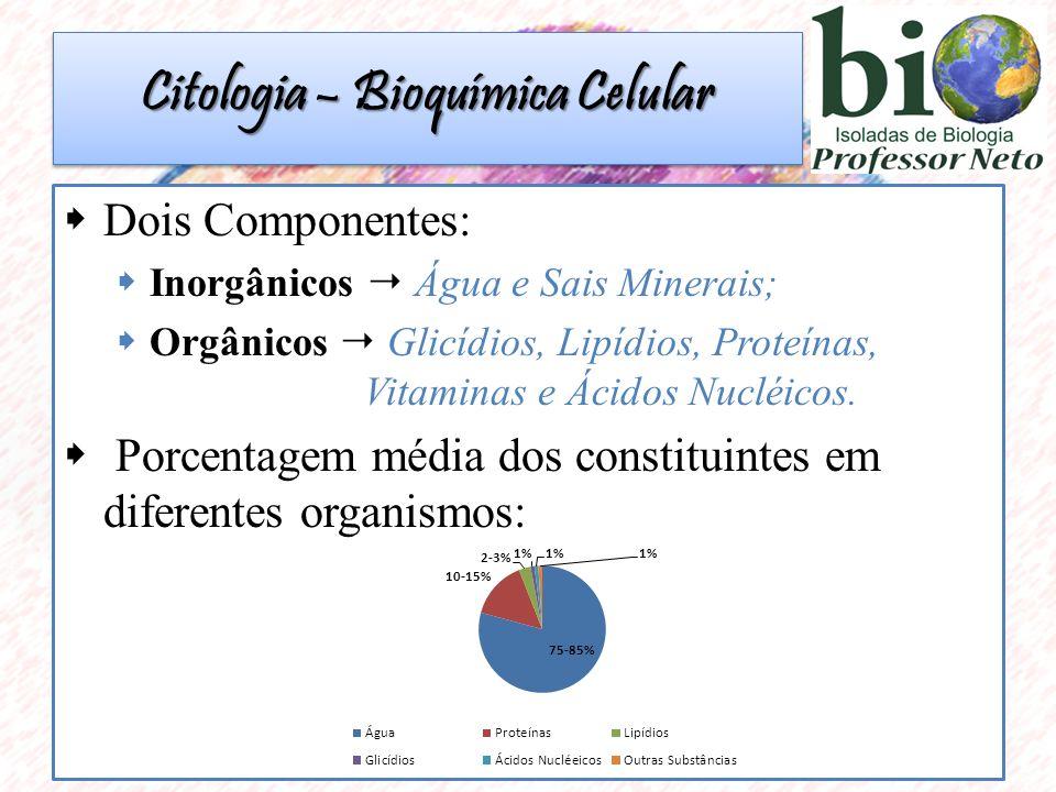 Citologia – Bioquímica Celular