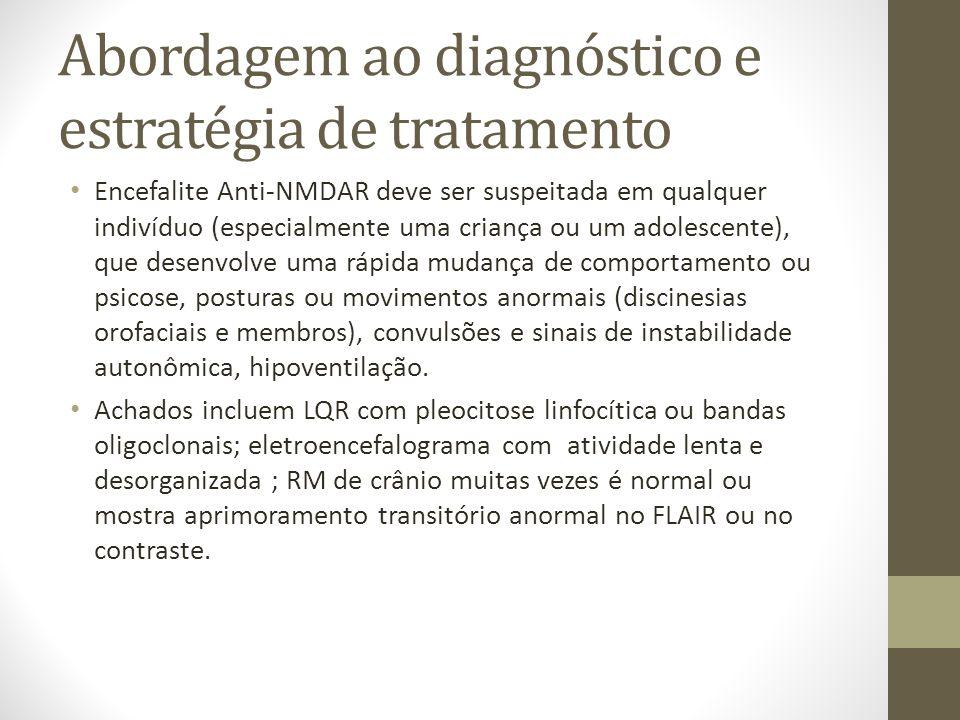 Abordagem ao diagnóstico e estratégia de tratamento